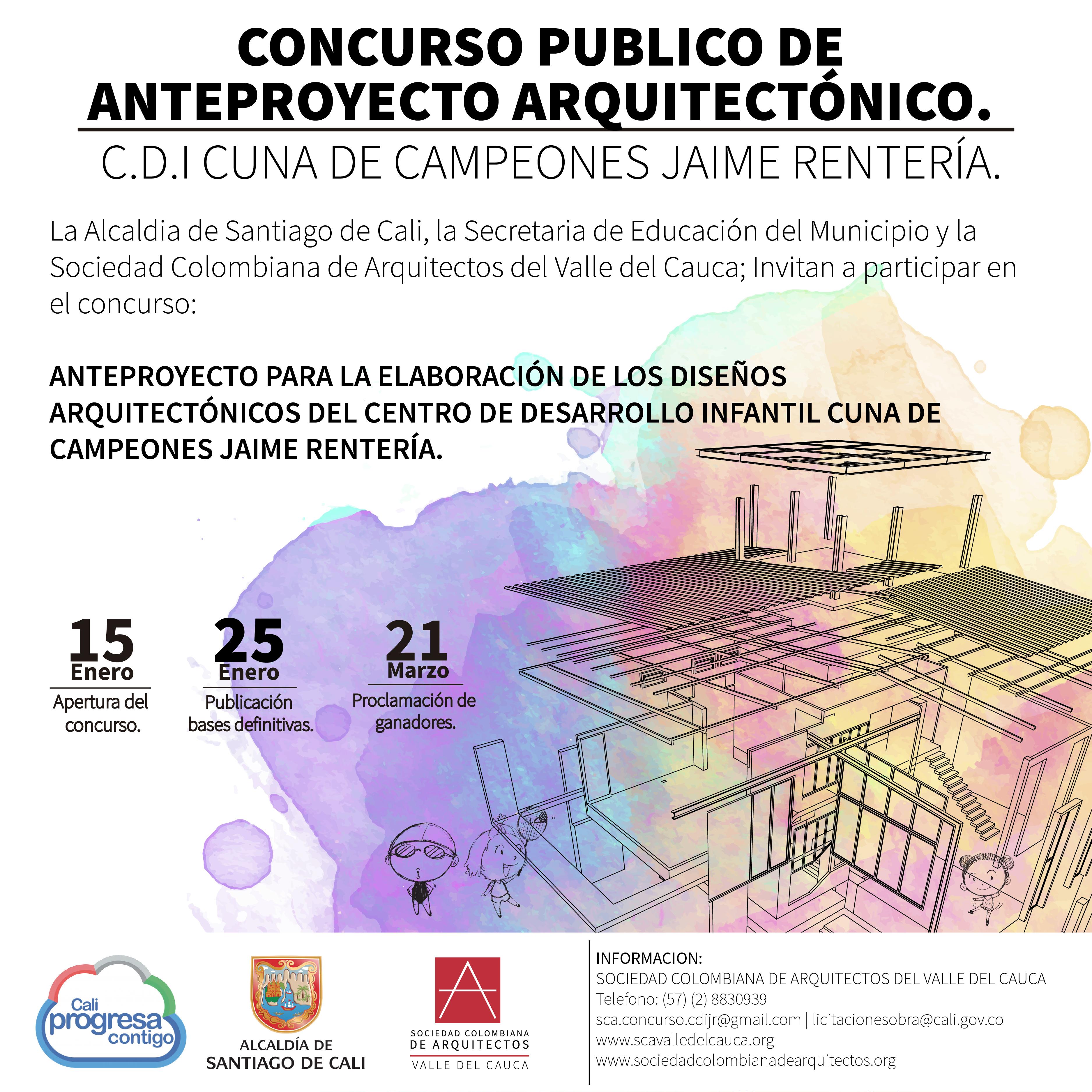 Concurso CDI cuna de campeones Jaime Rentería